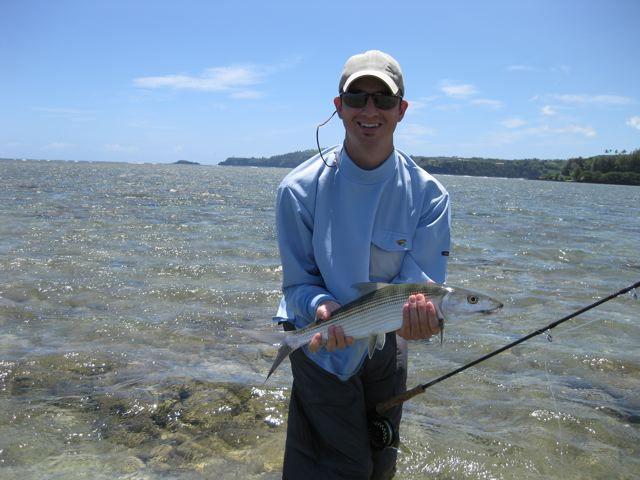 Kauai fly fishing bonefishing hawaii fly fishing for the for Bonefish fly fishing